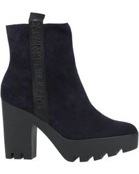 Calvin Klein Ankle Boots - Blue
