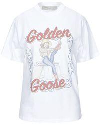 Golden Goose Deluxe Brand T-shirt - White