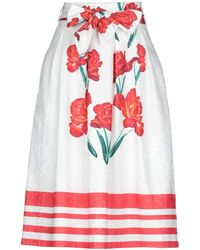 Anonyme Designers 3/4 Length Skirt - White