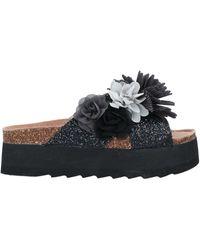Colors Of California Sandals - Black