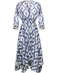 Bazar Deluxe Vestido por la rodilla - Azul