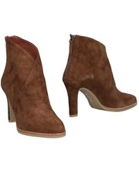 Lola Cruz Ankle Boots - Brown
