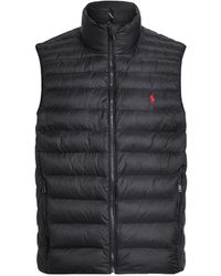 Polo Ralph Lauren Synthetic Down Jacket - Black