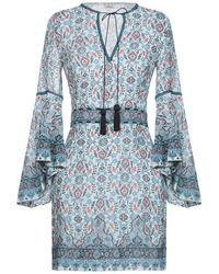 Talitha Kurzes Kleid - Blau