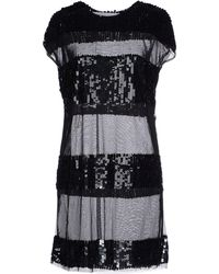 Caban Romantic - Short Dress - Lyst