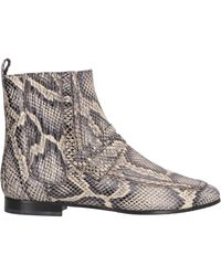 ESCADA Ankle Boots - Natural