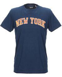 Schott Nyc Camiseta - Azul