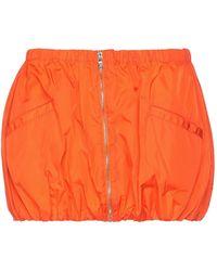 Prada Linea Rossa Mini Skirt - Orange