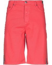 Versace Jeans Couture Bermudashorts - Rot