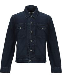 Rag & Bone Denim Outerwear - Blue