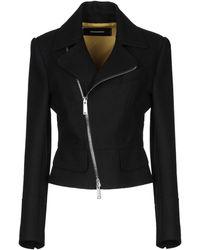 DSquared² Coat - Black