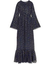 MICHAEL Michael Kors Robe longue - Bleu