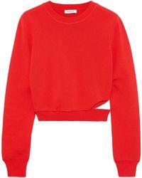 Mugler Sweater - Red