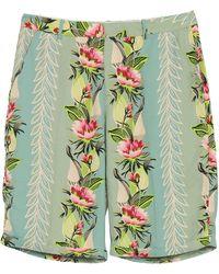 Maison Scotch Shorts e bermuda - Verde