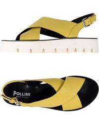 Pollini Sandals - Yellow