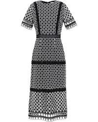 True Decadence 3/4 Length Dress - Black