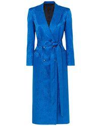 Blazé Milano Midi Dress - Blue