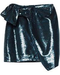 Amen Mini Skirt - Blue