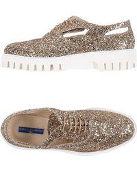 Alberto Guardiani Lace-up Shoe - Metallic