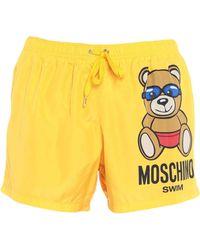 Moschino - Bañadore tipo bóxer - Lyst