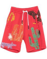 Palm Angels Shorts & Bermuda Shorts - Red