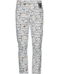Dolce & Gabbana Pantalone - Bianco