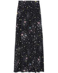 Boutique Moschino Long Skirt - Black