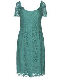 X's Milano Knee-length Dress - Green