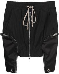 Rick Owens Mini Skirt - Black