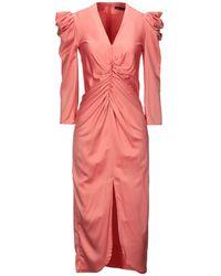 ACTUALEE 3/4 Length Dress - Pink