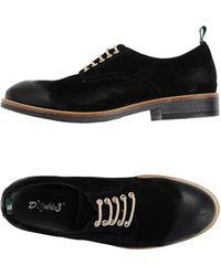 Snobs Lace-up Shoe - Black
