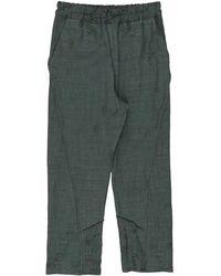 By Walid Cropped Trousers - Green