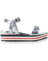 Loretta Pettinari Sandals - Metallic