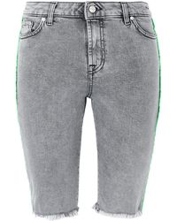 Represent - Bermuda jeans - Lyst