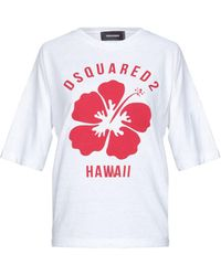 DSquared² T-shirt - Blanc