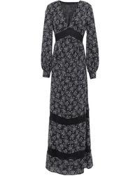 Trussardi Robe longue - Noir