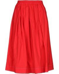 Fay - 3/4 Length Skirt - Lyst