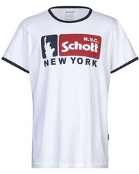 Schott Nyc Camiseta - Blanco