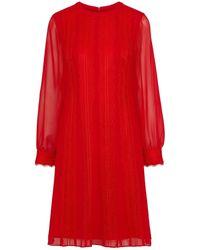 Mikael Aghal Vestido por la rodilla - Rojo