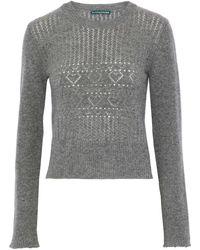 ALEXACHUNG Pullover - Gris