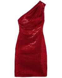 Haney Short Dress - Red