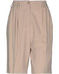 Agnona - Bermuda Shorts - Lyst