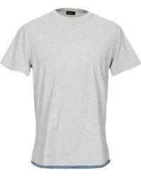 DIESEL Camiseta - Gris