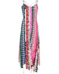 Angel Chen 3/4 Length Dress - Purple