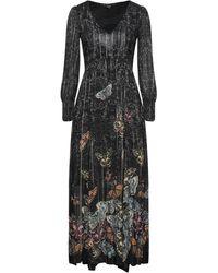 Desigual Langes Kleid - Grau