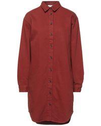 Vila Short Dress - Red