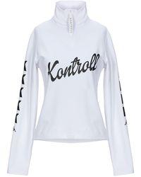 Kappa Kontroll Sweatshirt - White
