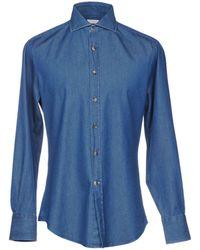 Brunello Cucinelli - Denim Shirt - Lyst