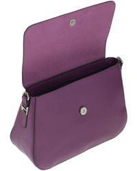 Cromia Cross-body Bag - Purple