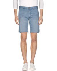 Sun 68 - Bermuda jeans - Lyst